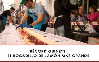El bocadillo de jamón más grande del mundo