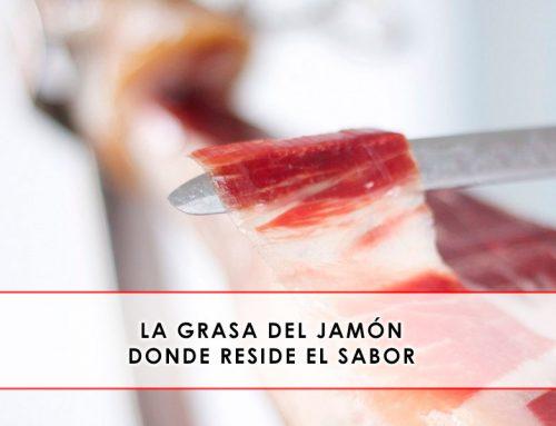 La grasa del jamón. Donde reside el sabor