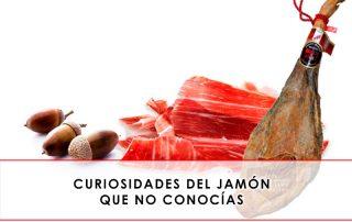 curiosidades del jamón