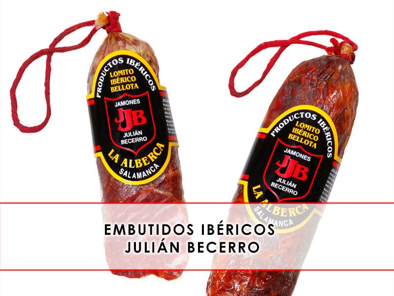 embutidos ibéricos Julián Becerro