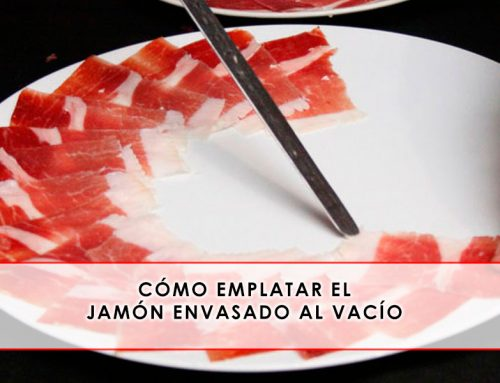 Cómo emplatar el jamón envasado al vacío