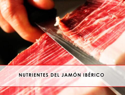 Nutrientes del jamón ibérico