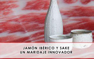 Jamón ibérico y sake, un maridaje innovador - Julián Becerro