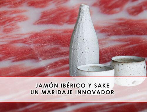 Jamón ibérico y sake, un maridaje innovador