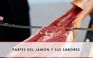 Partes del jamón y sus sabores - Grupo Julián Becerro