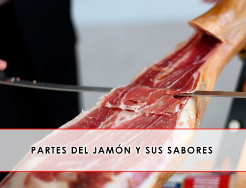 Partes del jamón y sus sabores