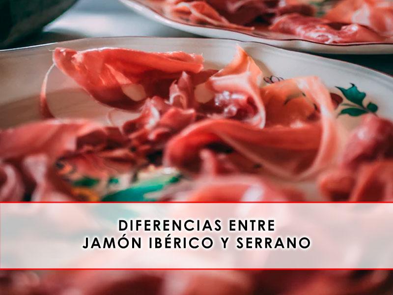 diferencias entre jamón ibérico y serrano - Grupo Julián Becerro